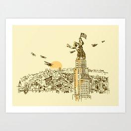 King City Art Print