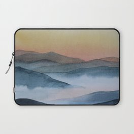 mist in the mountains Laptop Sleeve