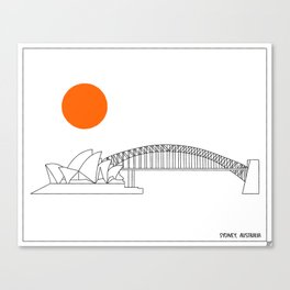 Sydney Harbour Sunrise Canvas Print