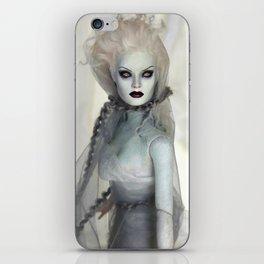 Alabaster Ghost Bride iPhone Skin
