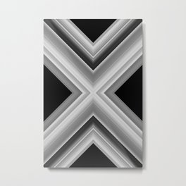 Planetary Displacement Metal Print