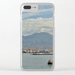 Mt. Vesuvius Clear iPhone Case