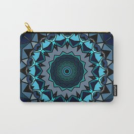 Seafoam mosaic Carry-All Pouch