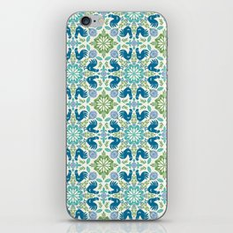 Blue Roosters iPhone Skin