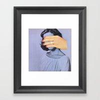 COVER UP Framed Art Print