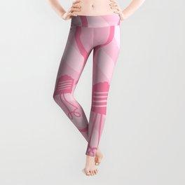 Pastel Pink Light Bulb Leggings