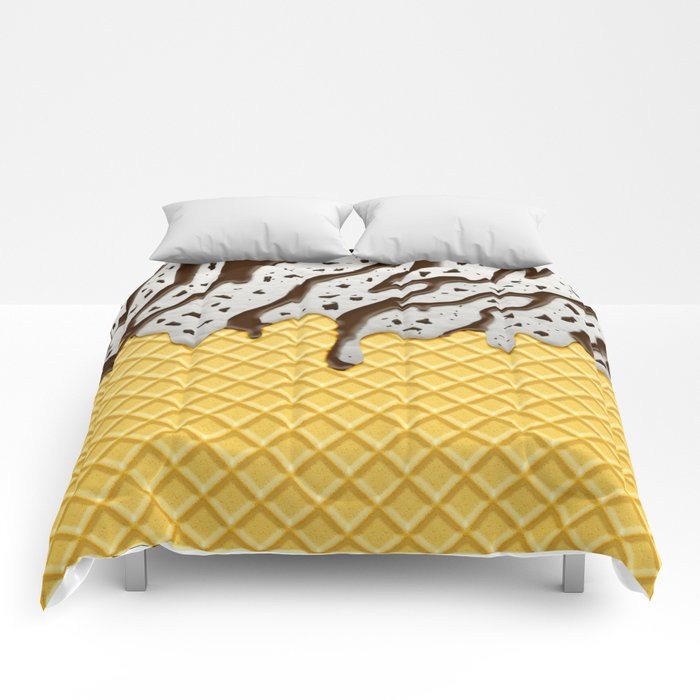 Cookie Ice Cream Comforters