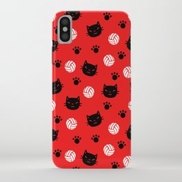 Volley Cats! iPhone Case