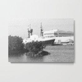 Ft Lauderdale Pier Metal Print