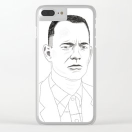 I just felt like running Clear iPhone Case