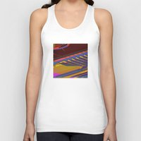data Tank Tops featuring Data Path by dBranes
