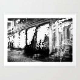 Lund In Motion 2 Art Print