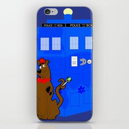 Doctor Scooby-Who iPhone Skin