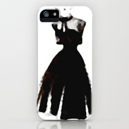 Retro Fashion Dress Series - Retro Fashion Dress MB iPhone Case