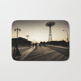 Coney Island #6 Bath Mat