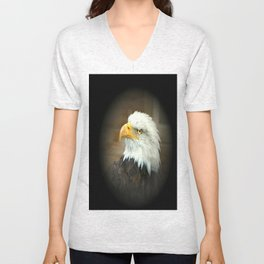 Eagle Eye Unisex V-Neck