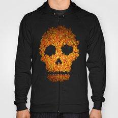 Candy Corn Skull Hoody