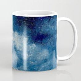 Deep Blue Cloud Painting Coffee Mug