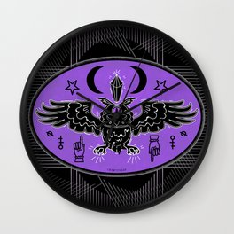 MYSTIC OWL Wall Clock