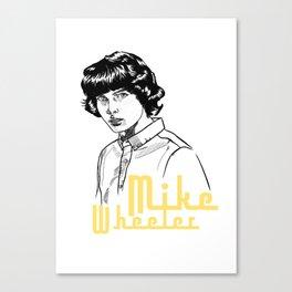 STRANGE MIKE Canvas Print