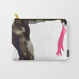 Pink Glove  Carry-All Pouch