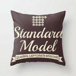 The Standard Model Throw Pillow