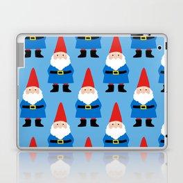 Gnome Repeat in Blue Laptop & iPad Skin