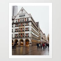 german Art Prints featuring German. by Snow & Sonder
