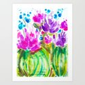 Flowerista Cactus by paigelindseydesign