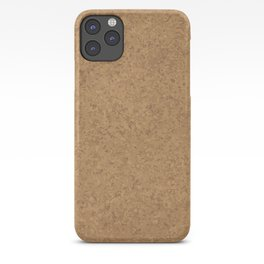 Cork Board Background iPhone Case