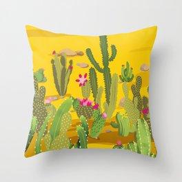 Cactus Variety 4 Throw Pillow
