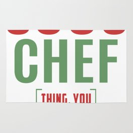Sous-Chef-Thing Rug