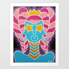Starry Eyes Art Print