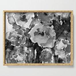 Floral Enchantment No.17D by Kathy Morton Stanion Serving Tray