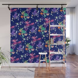 little halloween witches Wall Mural