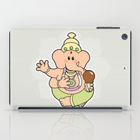 ganesha iPad Cases featuring Ganesha by Andrés Diplotti