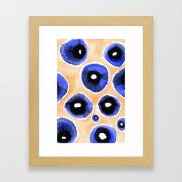 Poppy Eyed Framed Art Print