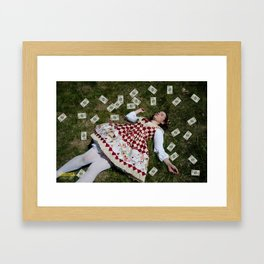 Beginings of the Red Queen  Framed Art Print