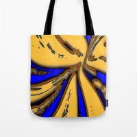 drum Tote Bags featuring Caramel Drum by Stars Live Forever
