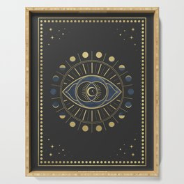 The Third Eye or The Sixth Chakra Serving Tray
