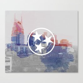 Nashville, Tennessee Canvas Print
