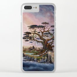 The worldsaver Clear iPhone Case