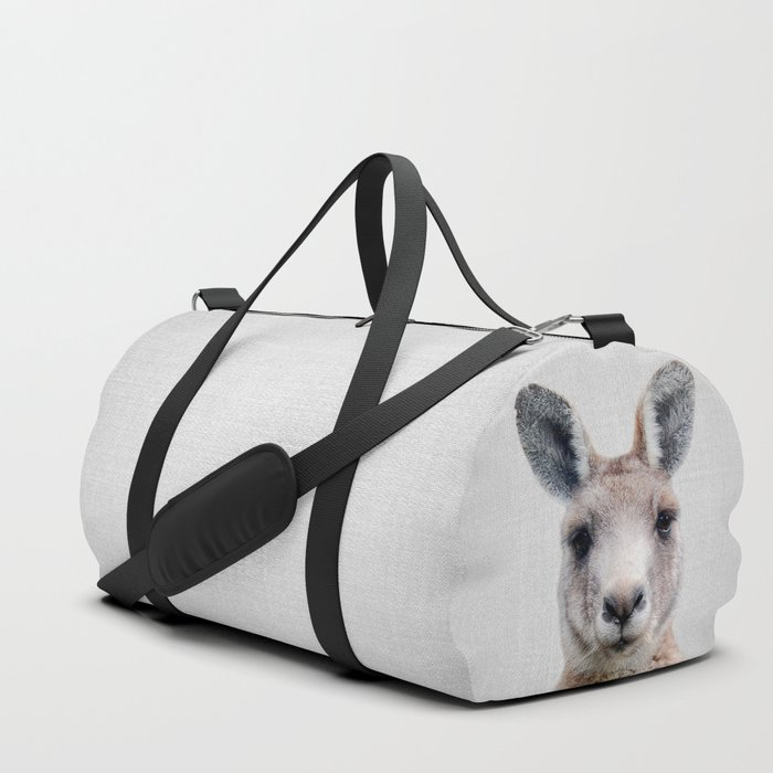 Kangaroo - Colorful Duffle Bag by galdesign  fbd7ffcb41e55