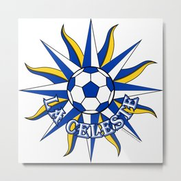 Uruguay La Celeste (The Sky Blue) ~Group A~ Metal Print