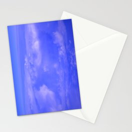 Aerial Blue Hues IV Stationery Cards