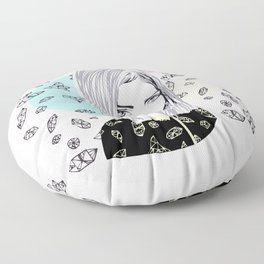 you are my geometric desire... Floor Pillow