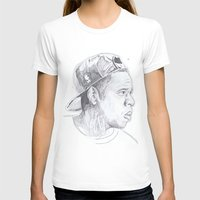 jay z T-shirts featuring Jay Z - Go Home by davidcain_art