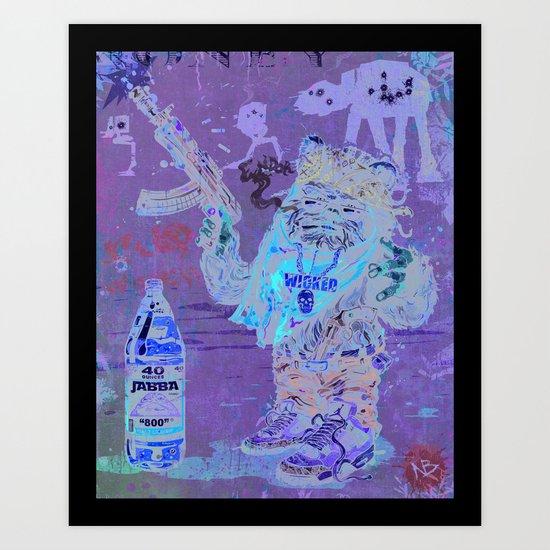 Gwok Art Print