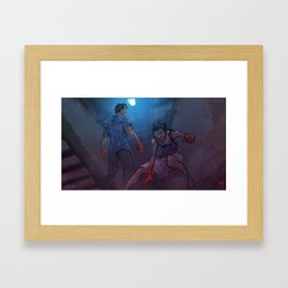 Tainted Love - HUNTERS Framed Art Print