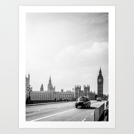 Parliament Walk Art Print